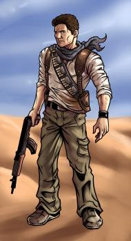 Рисуем Nathan Drake из Uncharted
